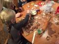 Kekse Backen und Weihnachts Deko im MUHA(84)