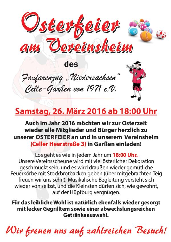 Osterfeier FZN 2016